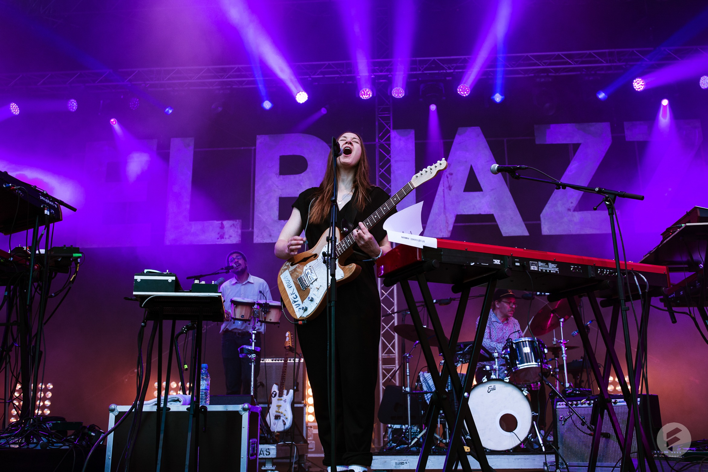 Sophie Hunger beim Elbjazz 2019 in Hamburg. (stagr / Axel Schilling)