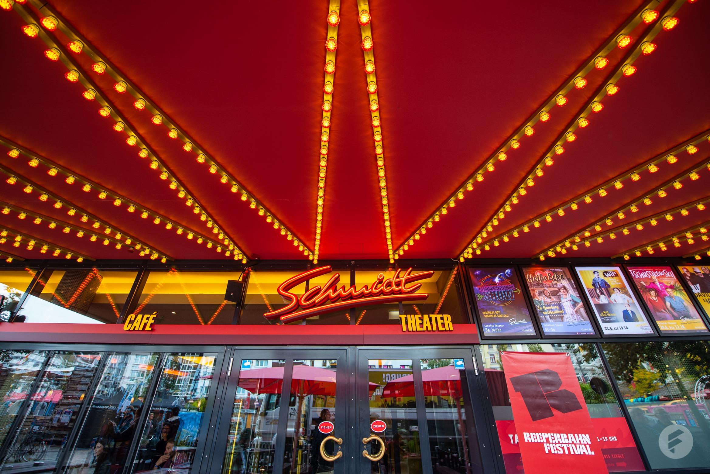 Im Schmidt Theater fanden tagsüber Workshops und Sessions statt. (stagr / Julia Langmaack)