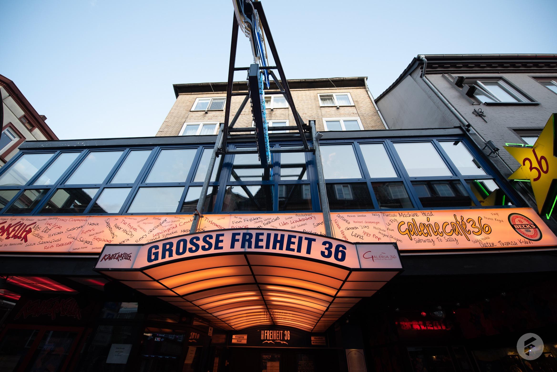 Hier spielten schon unzählige Stars in der Großen Freiheit 36 auf der beliebten Amüsiermeile (stagr / Julia Langmaack)